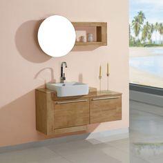 DIS748SC Meuble salle de bain scandinave