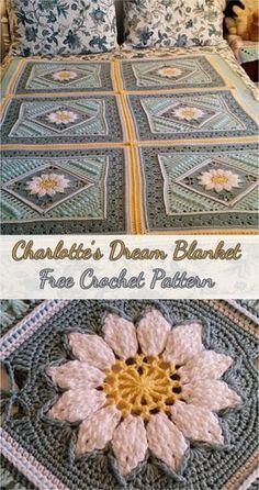 Charlotte's Dream Blanket – Free Crochet Pattern