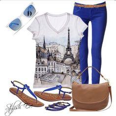Paris Outfit!!! OMG! I love it!!