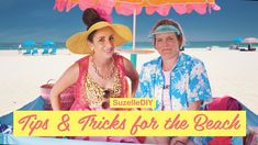 In this video, Suzelle and Mariaan show off their best beach hacks and they are genius!