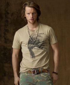 Denim & Supply Ralph Lauren T-Shirt, Tribal Graphic Tee - Mens T-Shirts - Macy's