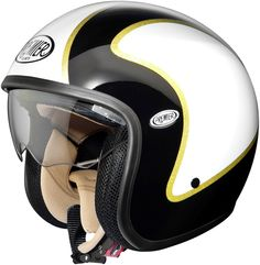 Premier Jet Vintage DLB Open Face Helmet - Celebrate Great Britain's golden success at London 2012 with your own Golden Premier Jet. £169.99 from The Biker Store.