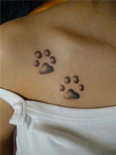 12 Mejores Imágenes De Tatuajes Huellas De Perro Animal Tattoos