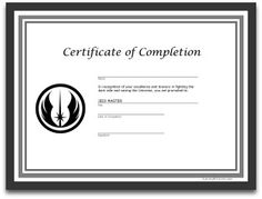 free printables star wars jedi certificate party ideas party activities star wars party ideas