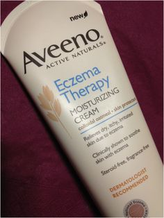 Holy grail skincare product... I have eczema on my eyelid and this is safe to use there, no steroids, no fragrance. It works so quickly at getting my eczema under control! (see Aveeno's label for warnings about getting it IN your eye and stuff).
