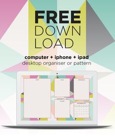 September Free Desktop Download Harlequin geometric design for iPhone, iPad computer and laptop plus a computer desktop organiser designed especially for bloggers! Download at www.kaleidoscopeblog.net. Kaleidoscope - inspiration and beautiful resources for women bloggers