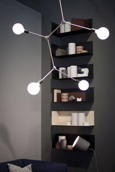 Menu - Franklin Pendant Light Interior Stylist, Stockholm, Wine Rack, Stylists, Menu, Industrial, Shelves, Pendant, Furniture