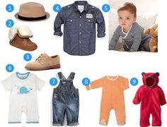 Mommy Monday: Baby Boy Clothes | Vera http://www.redovercoat.com/2013/10/mommy-monday-baby-boy-clothes.html