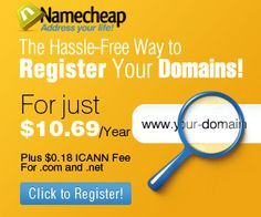 Buy a domain and get the Free WhoisGuard. Protect your privacy so that nobody know who is the domain owner.