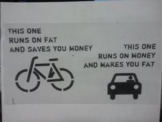 Must get a bike! hahaha