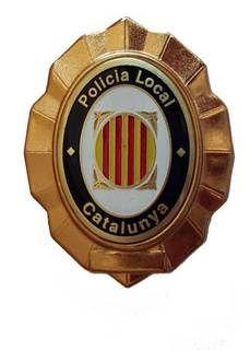 Placa Policia Local de Catalunya