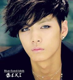 BLUE EYED K-POP IDOLS: #69  Kim Jonghyun (JR) - NU'EST