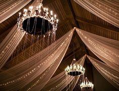 the great gatsby wedding inspiration | reception lighting ideas | v/ mod wedding |