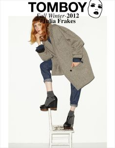 TOMBOY '12 Campaign with Julia Frakes. Stylist: Dianna Lunt