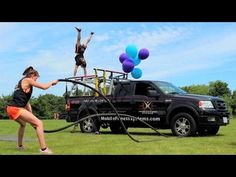 Mobile Gym on a Pickup Truck