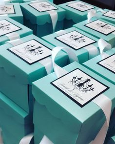 Tifffany Themed Wedding Exploding Box Invitations. Tiffany Quinceanera, Tiffany Sweet Sixteen