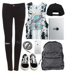 They're gonna rip up your heads by theaserr on Polyvore featuring Pull&Bear, Vans, Agent Ninetynine, Boohoo, Urbanears, school, black and Punk
