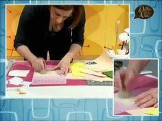 VIDEO #manidilara Folletto romantico in cucito creativo - YouTube