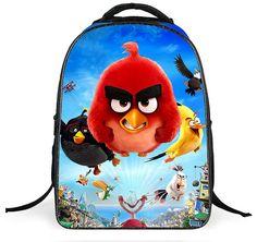 2016 Animal Birds Kids Backpack Girls First School Bags Satchel Mochila Cartoon Orthopedic Children School Bags For Girls Boys
