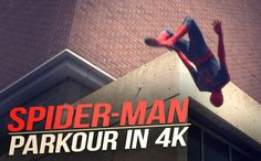 nice The Amazing Spider-Man Parkour
