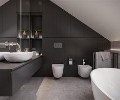 Loft Interiors, Bathroom Interior, Toilet, Bathtub, House Design, Interior Design, Architecture, Home Decor, Bathrooms