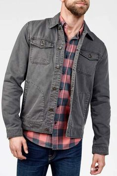 Route 80 Jacket - Charcoal