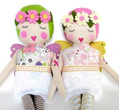 Beautiful Girls Accessories and Puppets www.piccolielfi.it