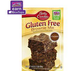 Target: Betty Crocker Gluten Free Chocolate Brownie Mix, 16 oz