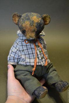Митя - мишка, мишка тедди, мишка ручной работы, мишки тедди, мишка в подарок