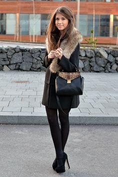 Para un dia frio, si tienes los hombros muy anchos mejor evita este tipo de abrigo