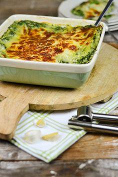 Spinat Lasagne mit Gorgonzola (3)