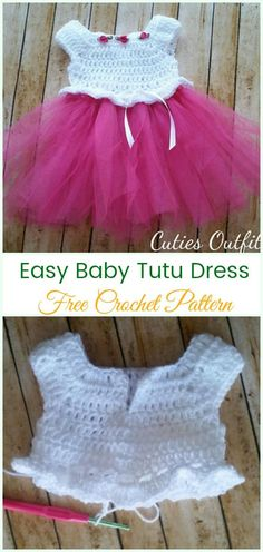 Crochet Girls Dress Free Patterns & Instructions