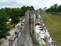 Remparts, fête Médiévale de Provins - 2009