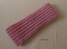 Free crochet pattern  Linked Textured Headband