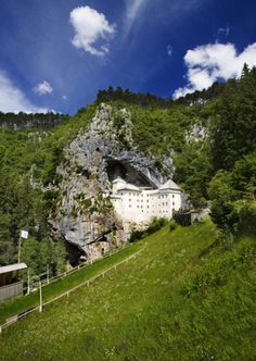 Top 10 Most Chilling Haunted Castles, Predjama Castle