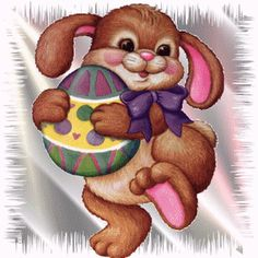 """Photo from album """"Пасхальная анимация"""" on Yandex. Easter Art, Easter Eggs, Merry Christmas Everyone, Christmas Holidays, Easter Bunny Pictures, Bunny Images, Best Christmas Quotes, Easter Wallpaper, Happy Easter"""