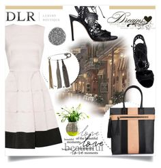 """DLR - Luxury Boutique"" by anastasia-ana ❤ liked on Polyvore featuring Casadei, Sonia Rykiel, Borbonese, Serax and dlrboutique"