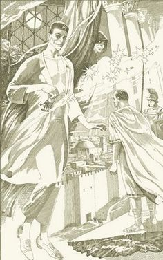 More Master and Margarita illustrated by Pavel Orinyansky.