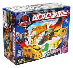 Turning Mecard W MEGA SCORPION Transformer Car Robot Korea TV Animation Toy #Sonokong