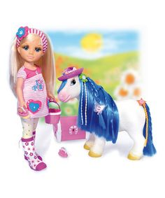 Take a look at this Nancy Doll & Fantasy Pony Set by Nancy on #zulily today!