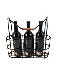 Take a look at this French Vintage Wine Bottle Caddy by True Fabrications on #zulily today!