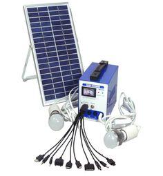 RD-04 Kit de energia solar con 2 lamparas led, cargador de móvil y panel solar de 6 vatios. http://santo-domingo.weebly.com/