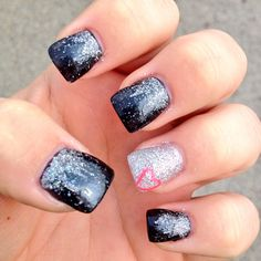 Nail design I had done today :)