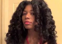 Heatless Curls Using Bubble Wrap | 29 Awesome New Ways To Style Your Natural Hair