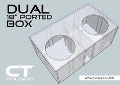 Pin on Subwoofer Box Design Best Subwoofer, Subwoofer Box Design, Speaker Box Design, Sub Box Design, Custom Car Audio, Ported Box, Car Audio Installation, Speaker Plans, Jl Audio