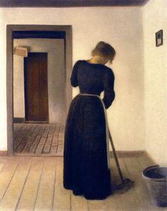 Vilhelm Hammershøi... | Kai Fine Art