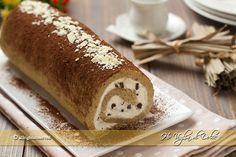 Rotolo tiramisù, un dolce facile con pasta biscotto e crema al mascarpone con tuorli pastorizzati. Ottimo per chi ama i dolci al caffè e cremosi. Una bontà
