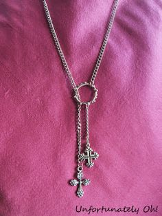 7. Cross Charm Necklace - 9 Ways to DIY And Steal Selena Gomez's Bohemian Style ... | All Women Stalk