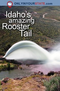 "From the Lucky Peak Rooster Tail to the Owyhee ""Glory Hole"" just over the border, there are some dam incredible sights this spring! Vacation Trips, Vacation Spots, Vacations, Oh The Places You'll Go, Cool Places To Visit, Idaho Hot Springs, Utah Hikes, Colorado Hiking, Adventure"