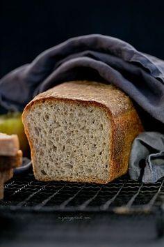 ziemniaczany, nastawiany dzien wczesniej Potato Bread, Banana Bread, Potatoes, Pains, Desserts, Bakery Business, Apples, Tailgate Desserts, Deserts